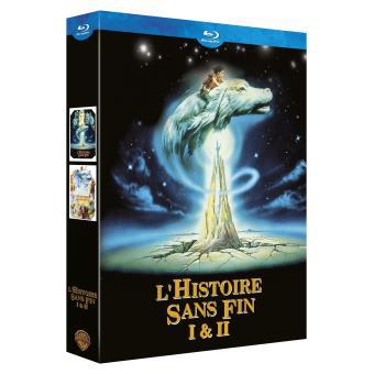 Coffret Blu-ray l'histoire sans fin 1 & 2