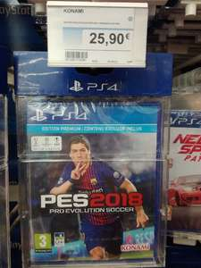 Pro Evolution Soccer (PES) 2018 - Édition Premium sur PS4 - Saint-Berthevin (53)