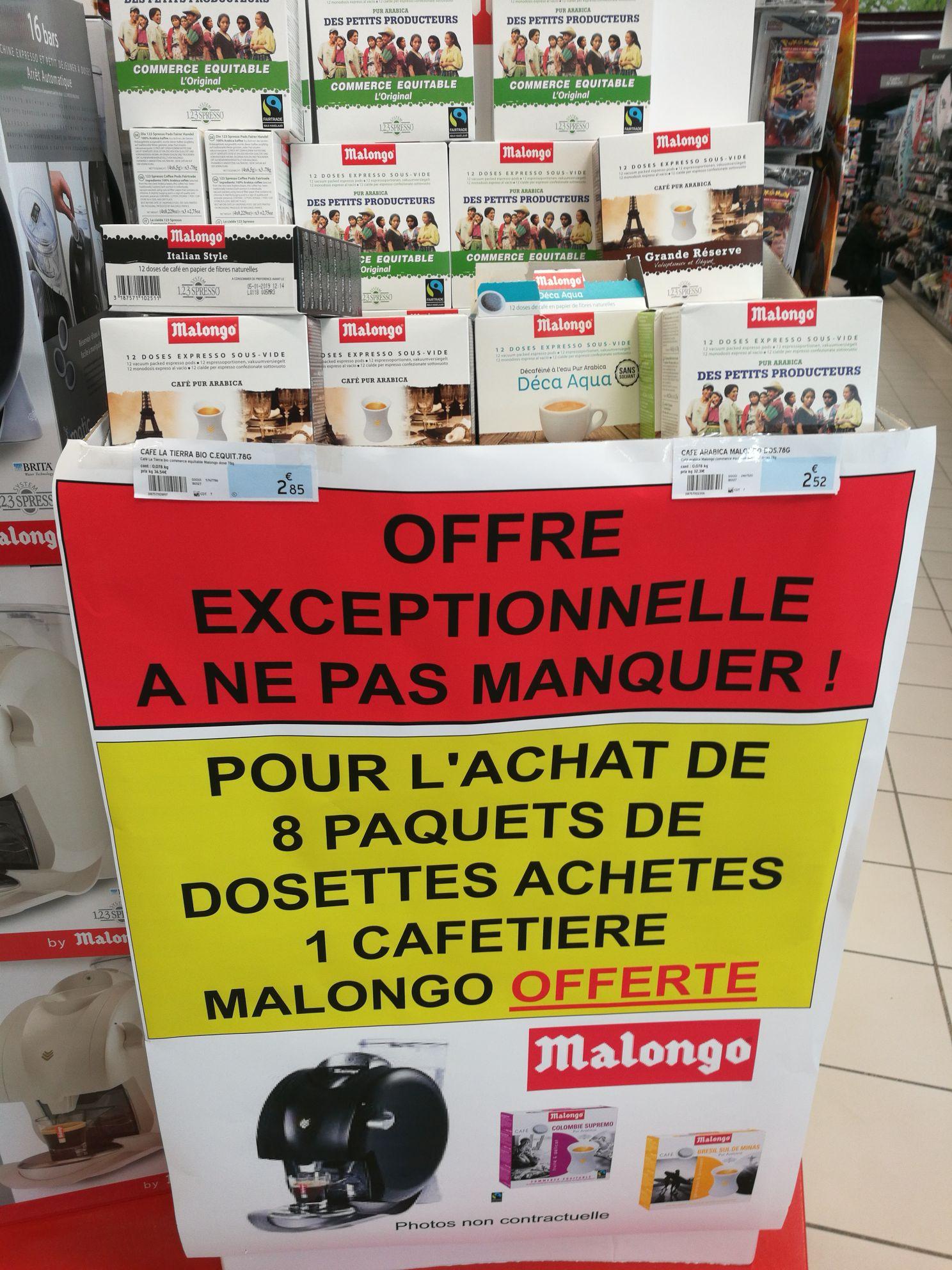 Cafetière Malongo O'Matic - Noyal Châtillon sur Seiche