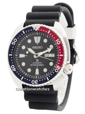 Montre Seiko Prospex Turtle Automatic Diver's SRP779 - 200m