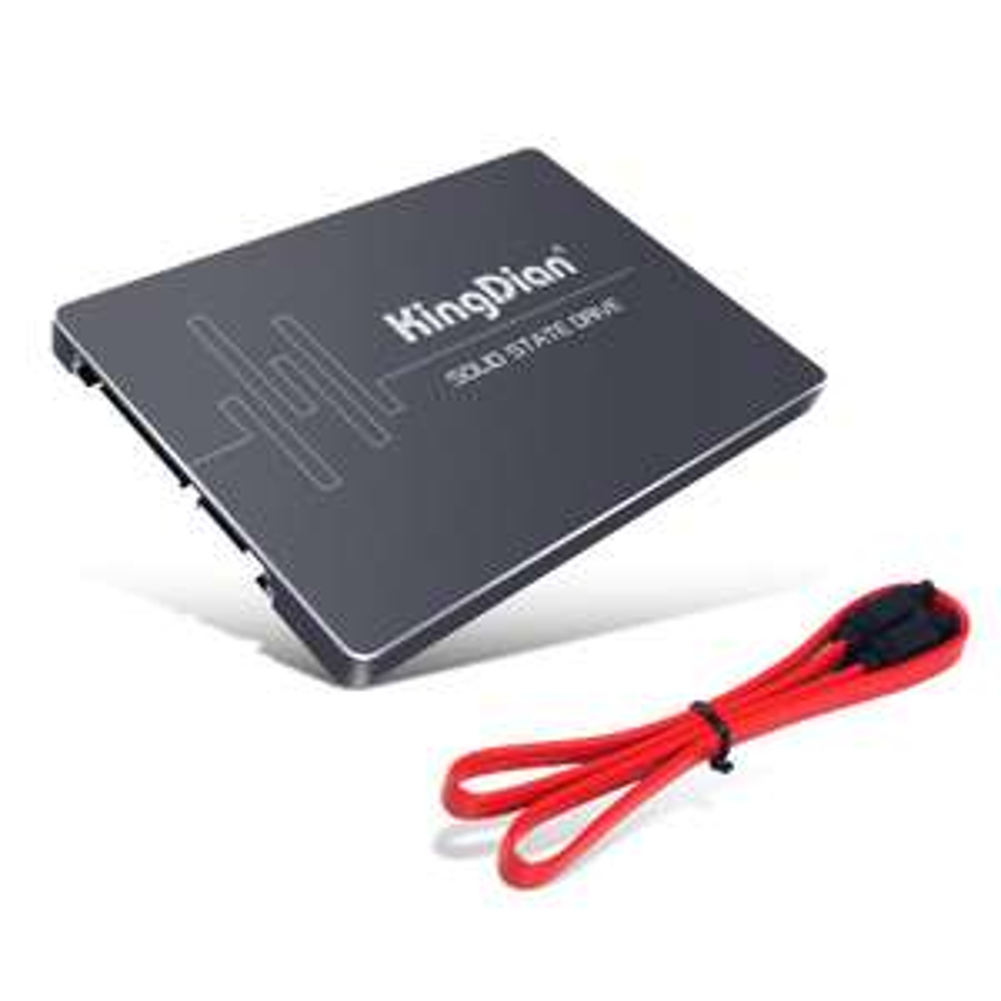 """SSD interne 2,5"""" Kingdian S400 480Go - TLC + Câble SATA (Vendeur tiers expédié par Amazon)"""