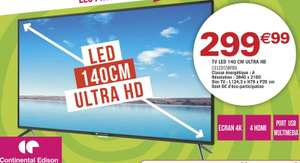 "TV LED 55"" Continental Edison CELED55BFB6 - UHD 4K"