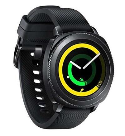Montre connectée Samsung Gear Sport - Bleu ou noir (Via ODR 50€)