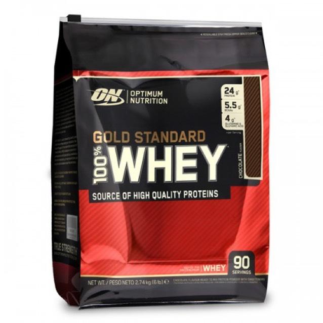 Protéine Optimum Nutrition 100 % Whey Gold Standard - Double Rich Chocolate, 4.5Kg