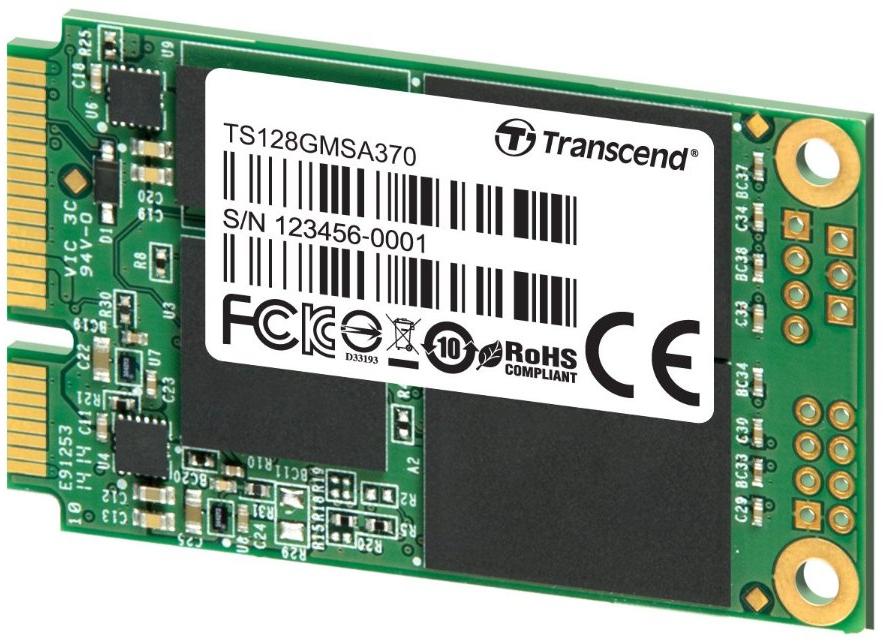 SSD mSATA Transcend MSA370 128 Go