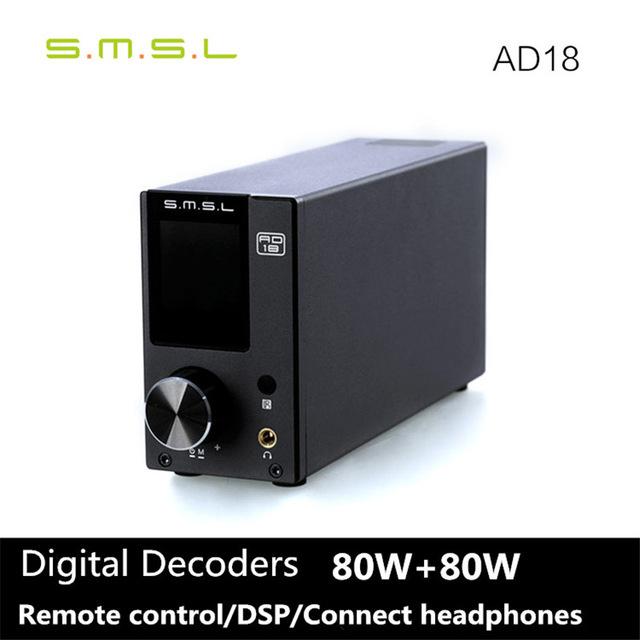 Amplificateur audio digital SMSL AD18