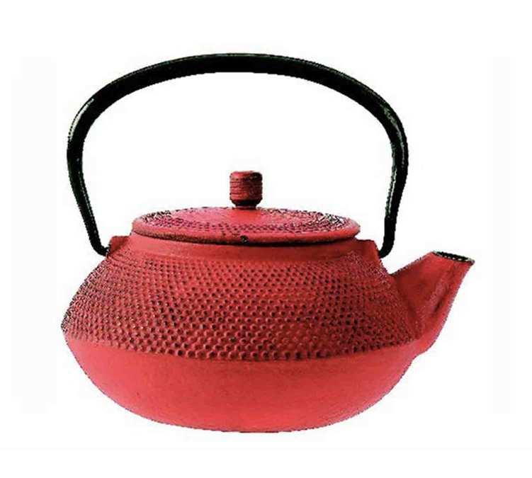 Théière en fonte Shogun rouge - 0,6L