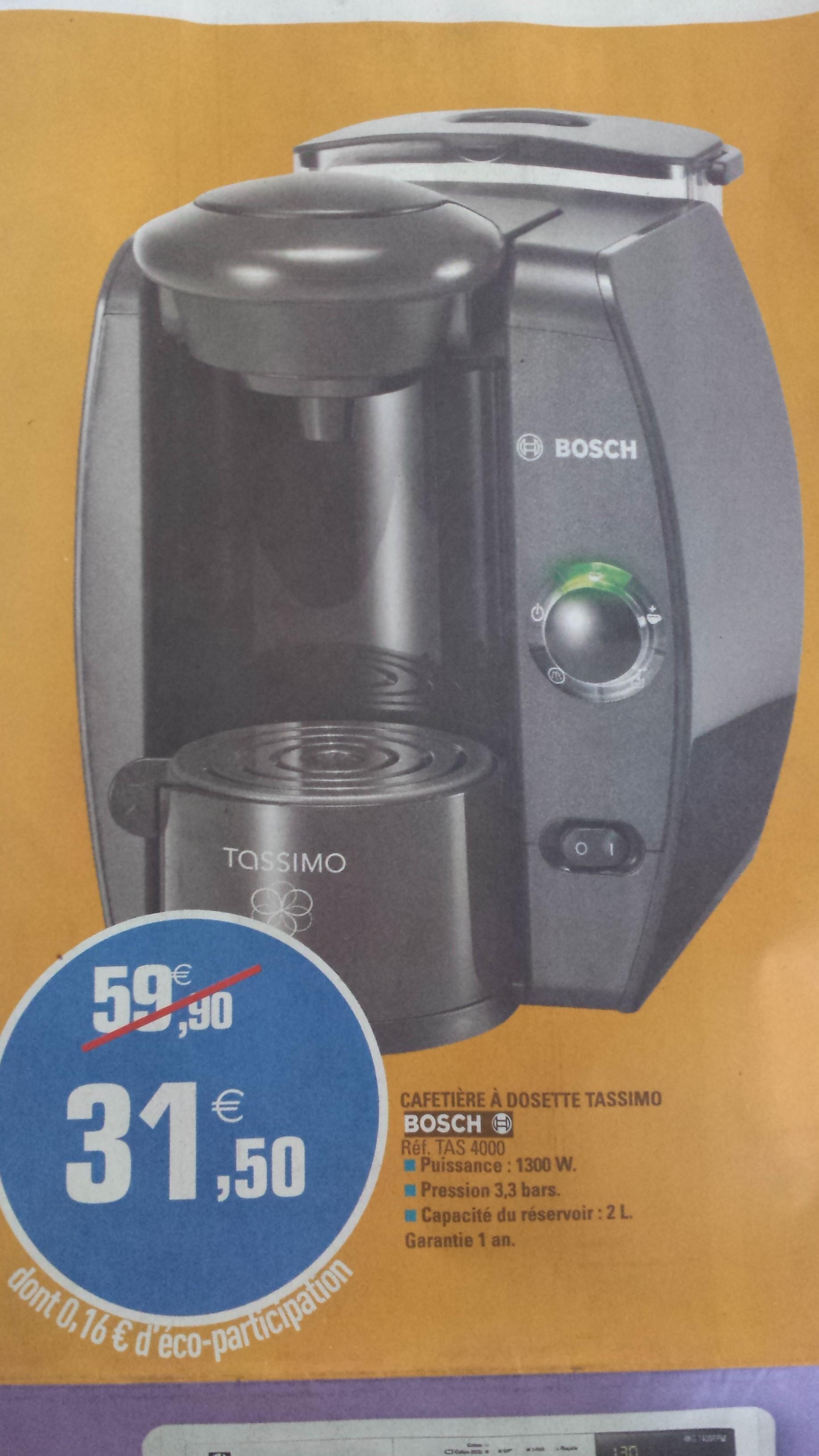 Cafetière à dosette Bosch Tassimo TAS4000