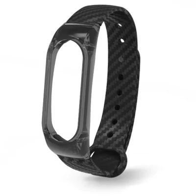 Bracelet générique pour Xiaomi Mi Band 2  -  Noir