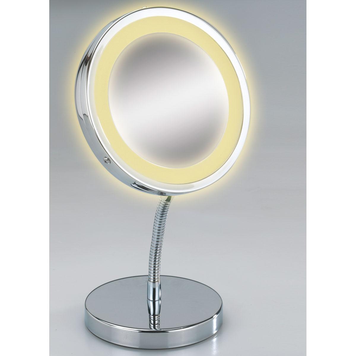 Miroir Grossissant sur Pied à LED Brolo
