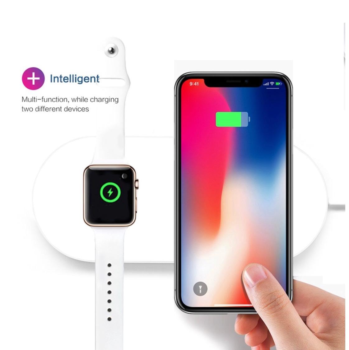 Chargeur sans fil pour iPhone X et Apple Watch (vendeur tiers)