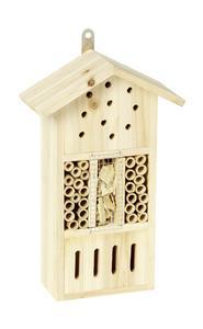 Hôtel à insectes en pin - modèle au choix