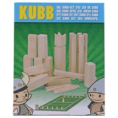 Set de jeu d'extérieur Kubb de 21 pièces