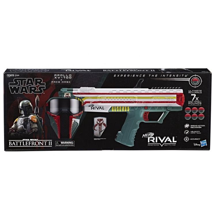 Pistolet Nerf Rival Star Wars Battlefront Blaster Apollo XV-700 + Masque