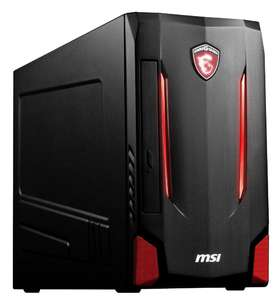 Tour PC Fixe MSI Nightblade MI2C-278EU - i5 7400 - RAM 8Go - 1To - GTX 1050 Ti - Windows 10