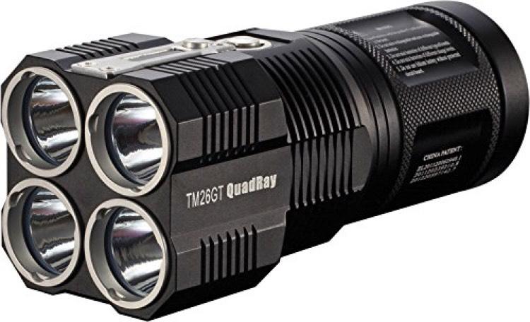 Lampe Torche Nitecore Tiny Monster 26GT Cree XP L HI V3 - 3500Lm