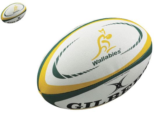 Sélection ballons de Rugby Gilbert - Ex : Ballon Rugby Gilbert Adulte Nouvelle-Zélande