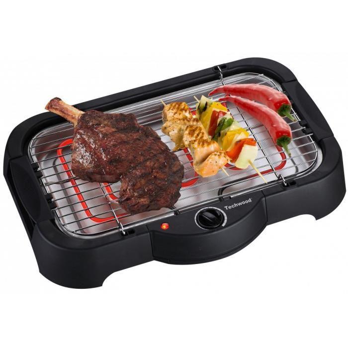 Barbecue électrique TechWood TBQ805 2 000W