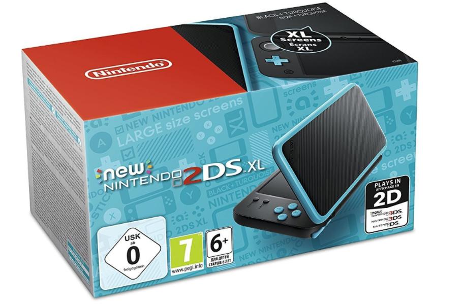 [Adhérents] Console Nintendo New 2DS XL Turquoise + Pokémon Ultra Lune + 30€ offerts en chèque cadeau