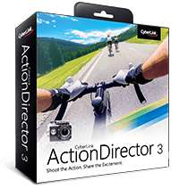 Application CyberLink ActionDirector Ultra 3 /montage vidéo Gratuit sur PC