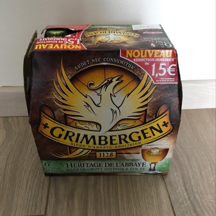 3 Pack de 6 bières Grimbergen héritage - 18 x 25 cl - Plaisir (78)