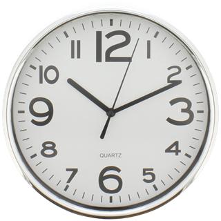 Horloge Blanche avec Crochet de Suspension - 20 x 20 x 3,6cm