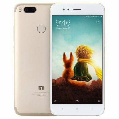 "Smartphone 5,5"" Xiaomi Mi A1 (Gold) - Full HD, Snapdragon 625, RAM 4 Go, ROM 64 Go, B20 (Entrepôt EU)"