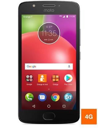 """[Clients Sosh] Smartphone 5"""" Motorola Moto E4 Gris - HD, MT6735, RAM 2 Go, ROM 16 Go (via ODR de 30€)"""