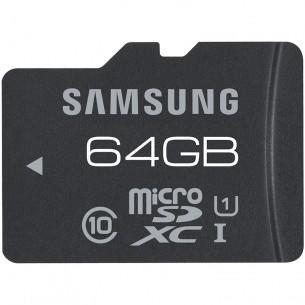 Carte microSDXC Samsung 64 Go Classe 10