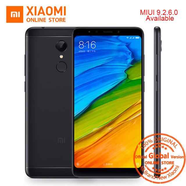 "Smartphone 5.99"" Xiaomi Redmi 5 Plus Or Global Version - 2160 x 1080, Snapdragon 625, RAM 3Go, 32 Go, 4000mAh, 4G (B20)"