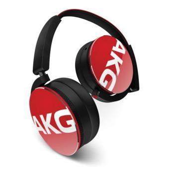 Casque audio AKG Y50 Rouge + 3 mois d'abonnement Deezer