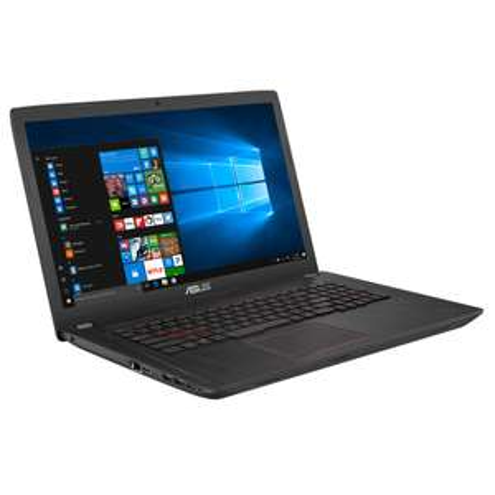 "PC Portable 17.3"" Asus FX753VE-GC092 - Full HD, i7-7700HQ, HDD 1 To + SSD 128 Go, RAM 8 Go, GTX 1050 Ti 4 Go, Sans OS"