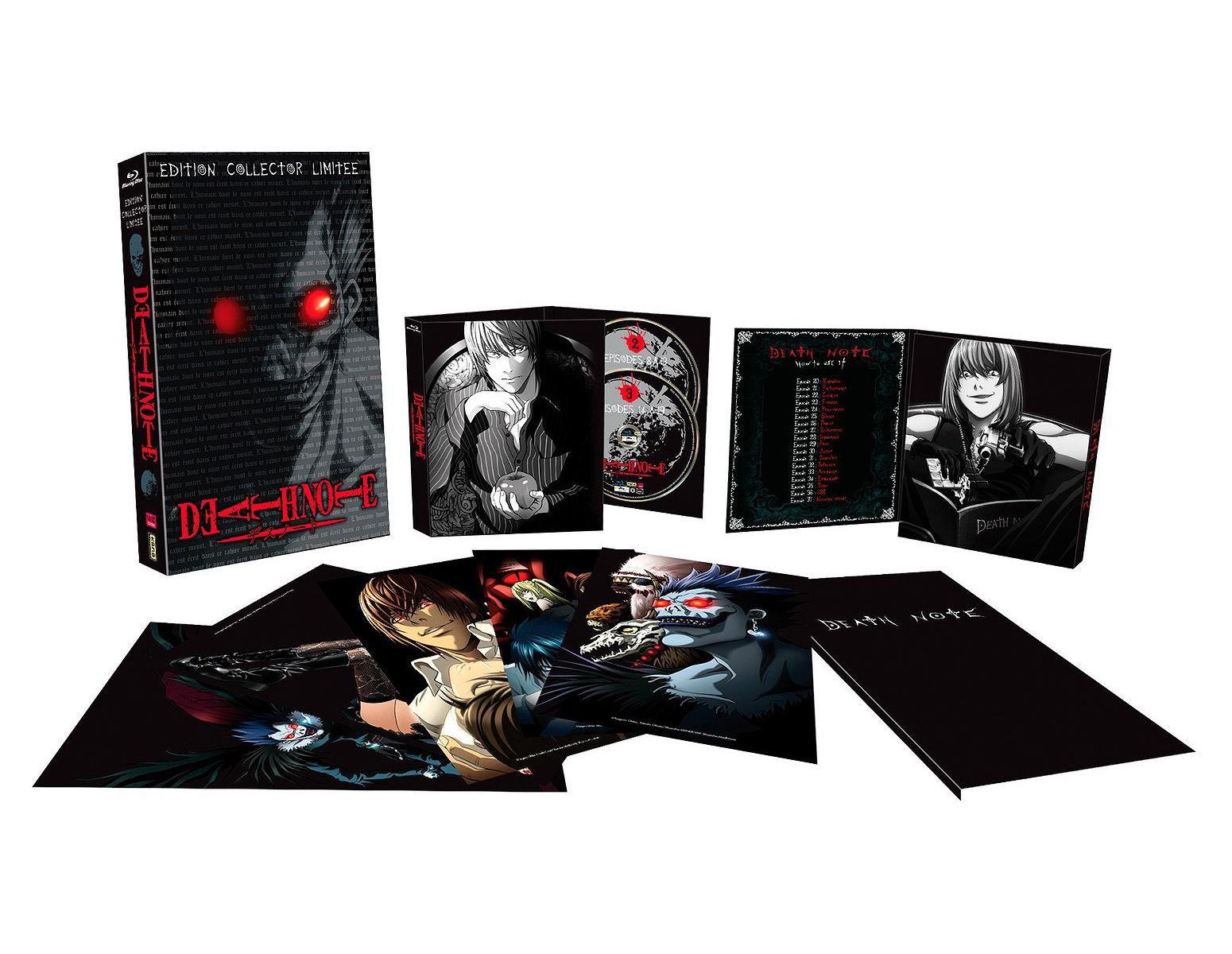 Death Note L'intégrale de la série Edition Collector limitée (Blu-ray)