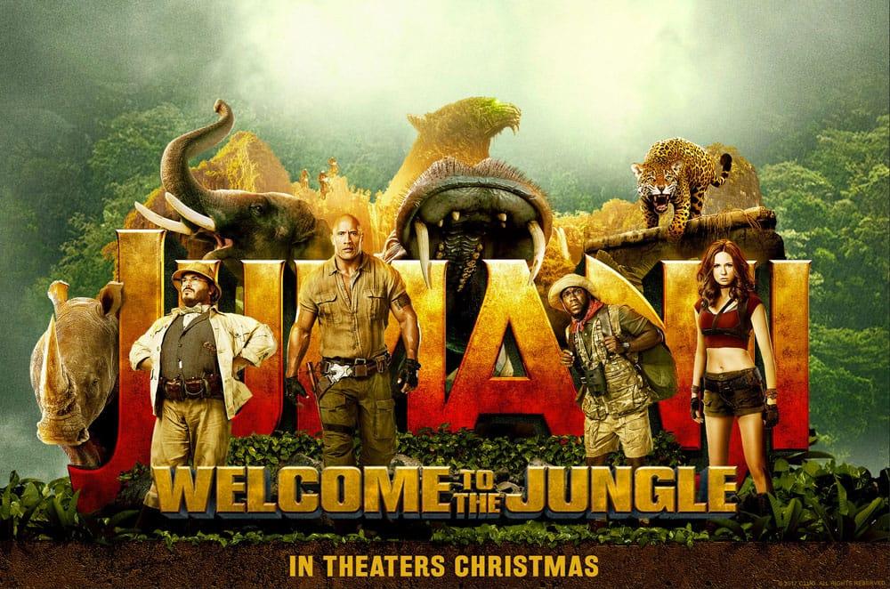 Billet de cinéma Jumanji : Bienvenue dans la jungle - séances 13 h 05 ou 15 h 40 au Pathé Dammarie-les-Lys (77)
