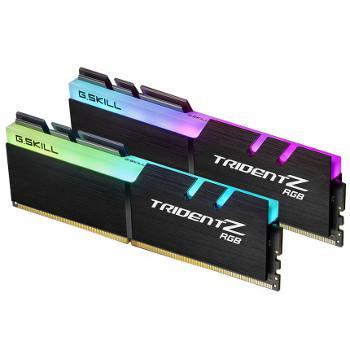 Sélection de barrettes Ram en promotion - Ex : Kit mémoire Ram DDR4 G.Skill Trident Z RGB 16 Go (2 x 8 Go) - 3200 MHz, CAS 16