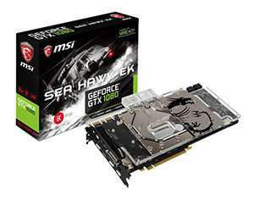 Carte Graphique MSI GeForce GTX 1080 SEA HAWK EK X - (vendeur tiers)