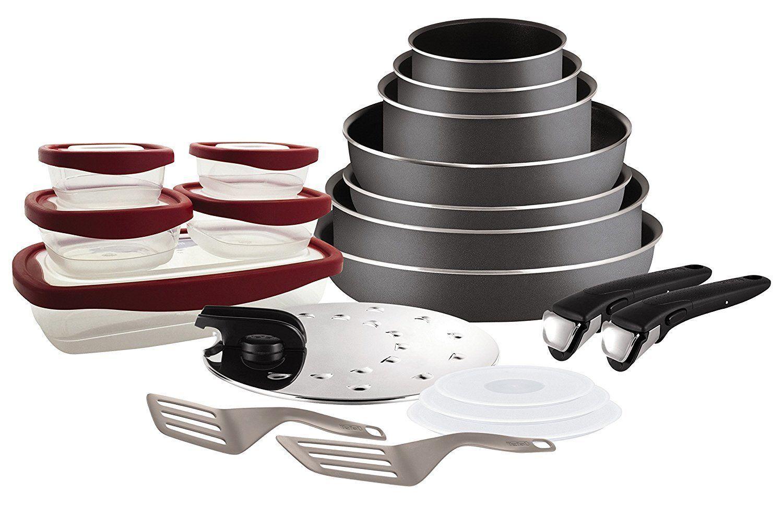 Set de poêles et casseroles  Tefal Ingenio - 20 pièces (Feux uniquement)