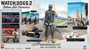 Jeu Watch Dogs 2 sur PC - Édition Collector San Francisco (via l'application mobile)