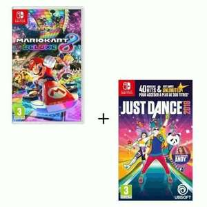 Just Dance 2018 + Mario Kart 8 Deluxe sur Nintendo Switch