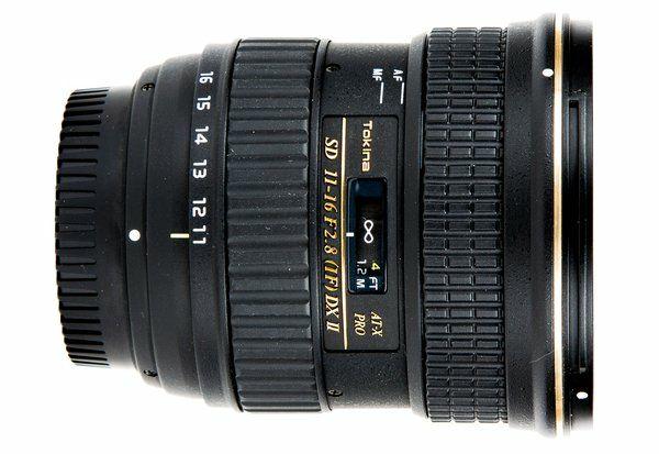 Objectif Tokina AT-X 116 PRO DX-II 11-16mm f/2.8 pour Nikon F - Noir