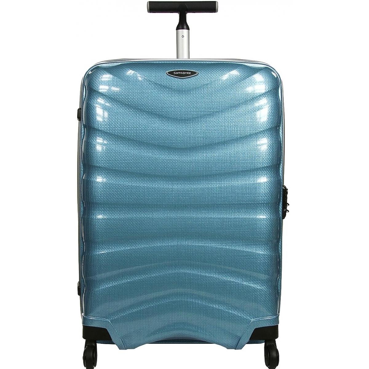Valise Samsonite Firelite Spinner - Bleu Ciel, 4 Roues (69 cm)