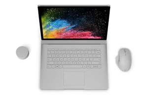"PC hybride tactile 15"" Microsoft Surface Book 2 - i5, 8 Go de RAM, 128 Go en SSD"