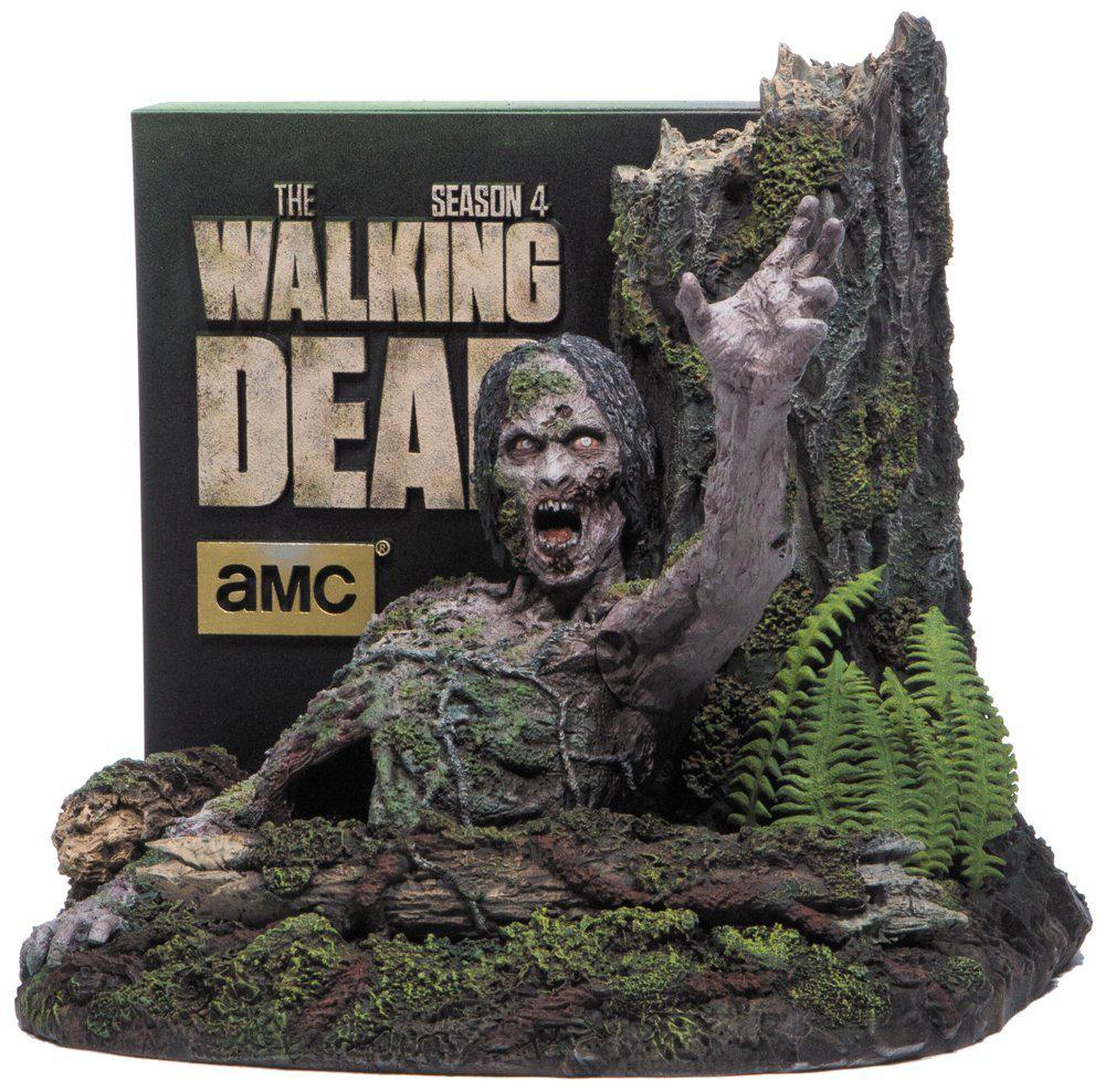 The Walking Dead - L'intégrale de la saison 4 en Blu-ray (Édition ultime limitée + Buste zombie)