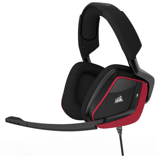 Casque Gaming filaire Corsair VOID Pro Surround Premium 7.1 - Rouge
