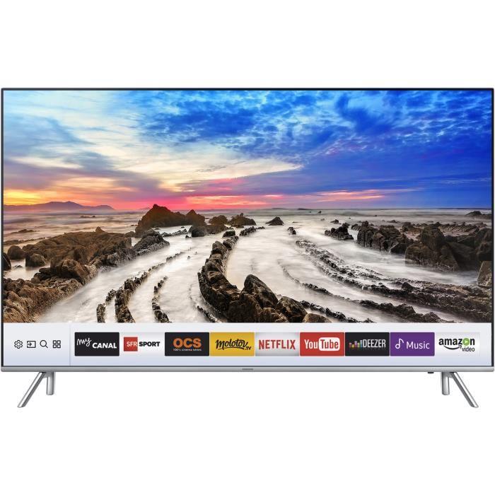 Téléviseur Samsung 55mu7005 - 4K - Smart TV - 4 x HDMI - Classe énergétique A