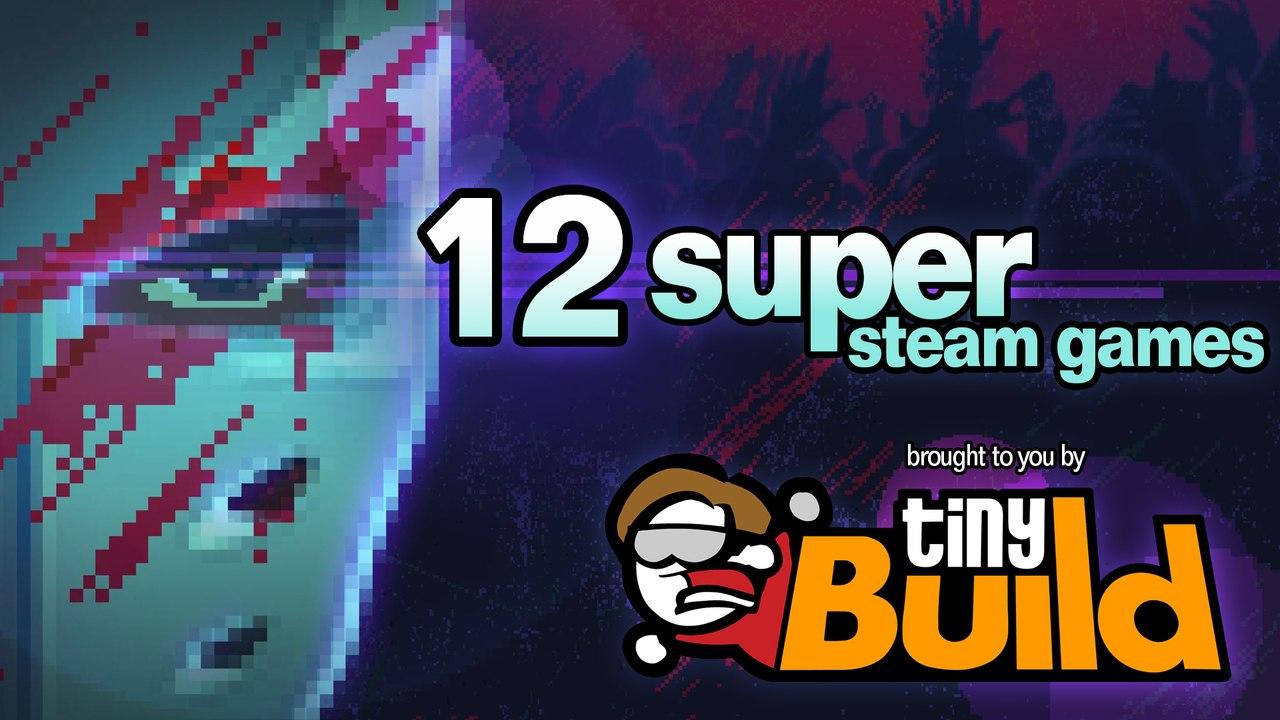 tinyBuild Party Bundle - 12 jeux sur PC (Dématérialisés - Steam) dont Speed Runners, Party Hard et no time to explain