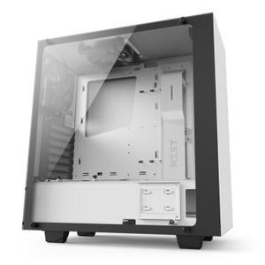 Boîtier PC NZXT S340 Elite avec Fenêtre en Verre Trempé - Blanc