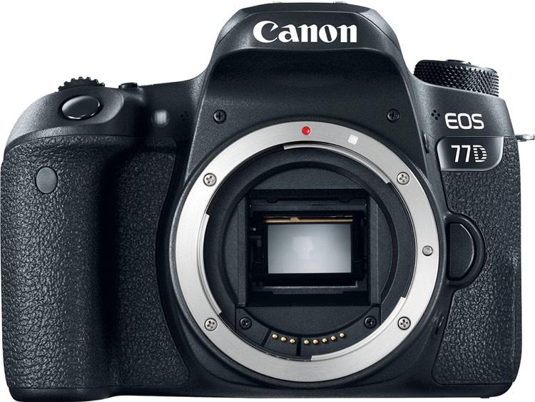 Appareil photo reflex Canon EOS 77D