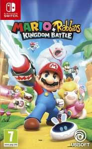 Nintendo Switch Mario + The Lapins Crétins Kingdom Battle FR (frontaliers Belgique)