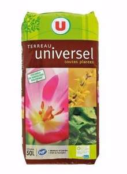 3 paquets de Terreau toutes plantes (50 L) - Hyper U